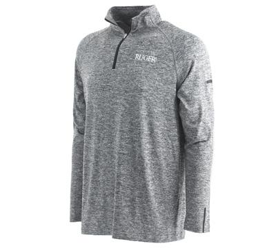 Flint Men's 1/4 Zip Pullover - Gray