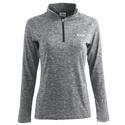Flint Women's 1/4 Zip Pullover - Gray