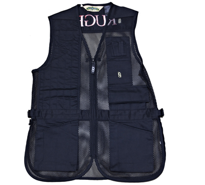 Full Mesh Shooting Vest - Left Handed