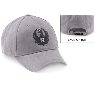 Hard R Gray Cap