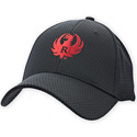 Black and Red Cool Mesh Cap