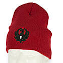 Ruger Red & Black Beanie
