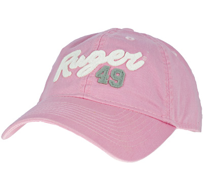 Women's Pink Relaxed Twill Cap