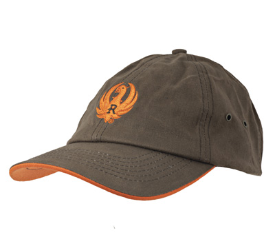 Brown and Hunter Orange Wax Cap