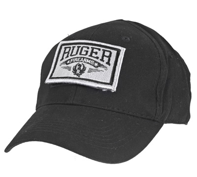 Black Tactical Patch Cap