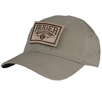Khaki Tactical Patch Cap