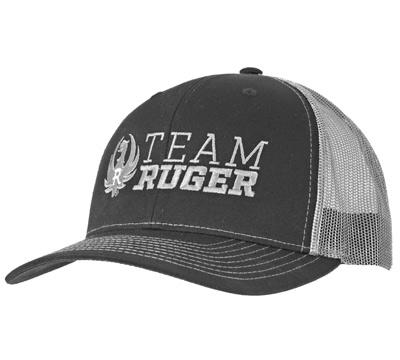 Team Ruger Trucker Cap, Black/Charcoal