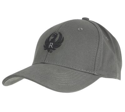 Cool Gray Cotton Twill Cap