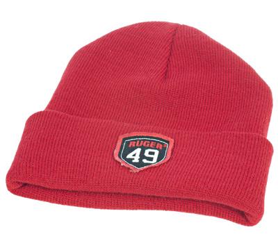 Red 49 Cuff Beanie