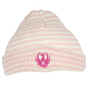 Infant Pink Cuff Beanie