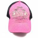 Pink Crossing Pistols Ball Cap