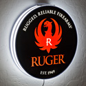 Ruger Single-Sided Halo Lighted Sign