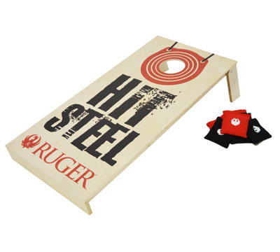 Hit Steel Corn Hole Game