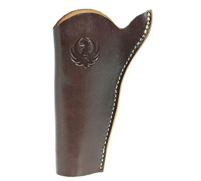 Wrangler® Triple K Slim Jim Belt Holster, Left Handed, Walnut Oil, 4
