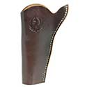 Wrangler® Triple K Slim Jim Belt Holster, Left Handed, Walnut Oil, 4-5/8