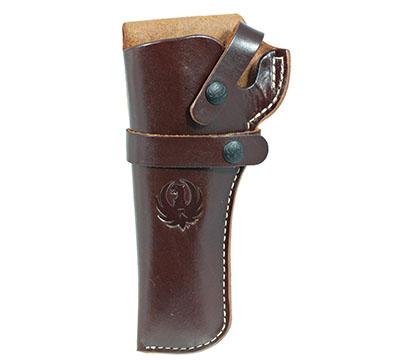 Wrangler® Triple K Western Belt Holster, Left Handed, Walnut Oil, 4-5/8