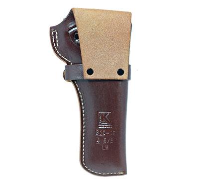 Wrangler® Triple K Western Belt Holster, Left Handed, Walnut