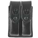 Security-9™ Triple K Double Mag Pouch, Black