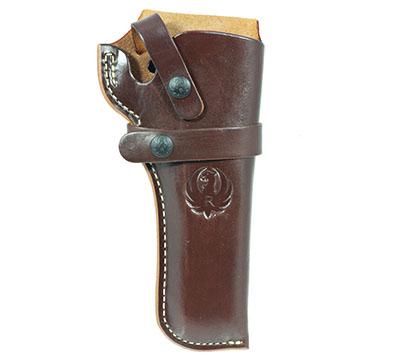 Wrangler® Triple K Western Belt Holster, Right Handed, Walnut Oil, 4-5/8
