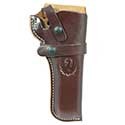 Wrangler™Triple K Western Belt Holster, Right Handed, Walnut Oil, 4-5/8