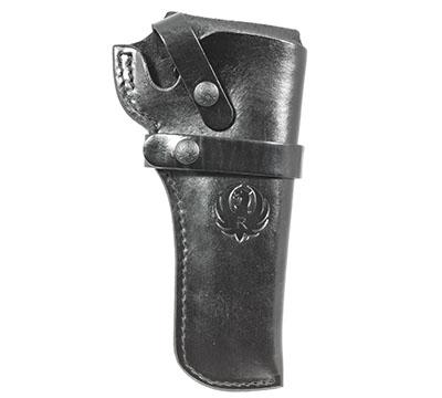 Wrangler® Triple K Western Belt Holster, Right Handed, Black, 4-5/8