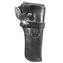 Wrangler® Triple K Western Belt Holster, Right Handed, Black, 4-5/8