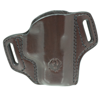 Security-9® Compact Mitch Rosen® Belt Holster, RH, Cuban Brown