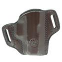 Security-9® Compact Mitch Rosen® Belt Holster - RH, Cuban Brown