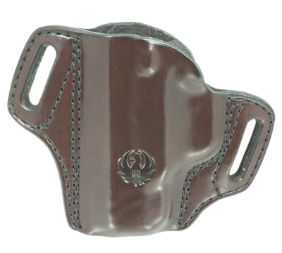 Security-9® Compact Mitch Rosen® Belt Holster, LH, Cuban Brown