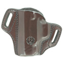 Security-9® Compact Mitch Rosen® Belt Holster, LH, Cuban Brown