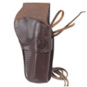 Triple K Western Rig Holster, Walnut Oil, 4-5/8