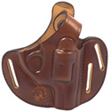 LCR® Bianchi® Piranha™ Tan Belt Holster, RH, 1.875