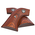 Single-Action Rosewood Grips - Square Trigger Guard