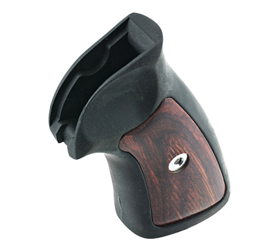 Rubber Grip w/ Rosewood inserts-ShopRuger