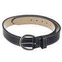Triple K Black Leather Belt