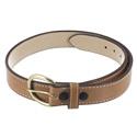 Triple K Tan Leather Belt