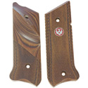 Mark III™ Checkered Laminated Thumbrest Grips - Right Handed