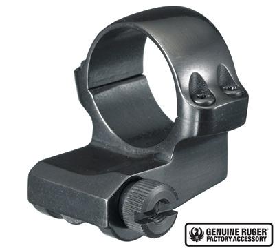 4BO Offset Medium Scope Ring with Blued Finish