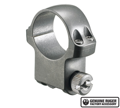 5KTG High Scope Ring with Target Grey Stainless Finish