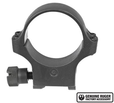 4K30TGMM Medium Scope Ring with Stainless Finish