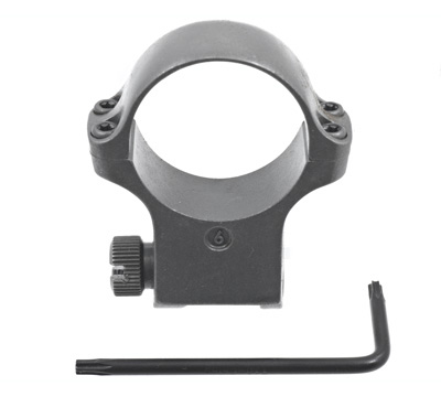 6K30TGMM X-High Scope Ring with Stainless Finish